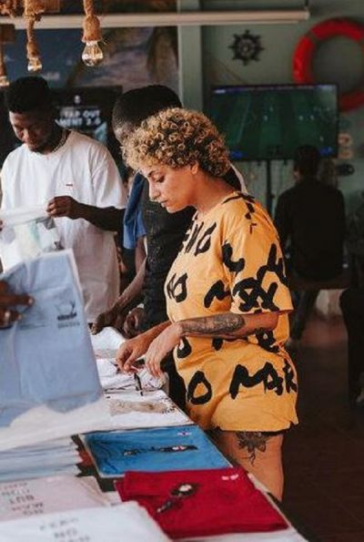 Kulaperry hosts biggest fashion pop up in Ghana