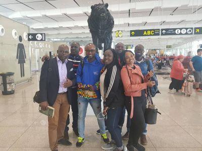 Ghana reps and media arrive in Spain for Vis-a-Vis Festival