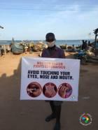 Shout Africa Foundation donates educative tools to fight coronavirus