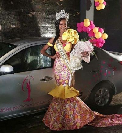 Akpene Diatta Hoggar wins 2018 Miss Universe Ghana beauty pageant