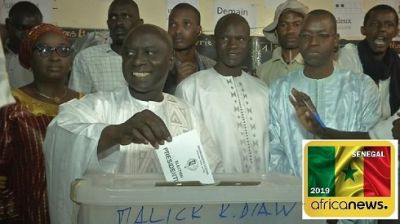 Senegal polls closed, vote counting underway