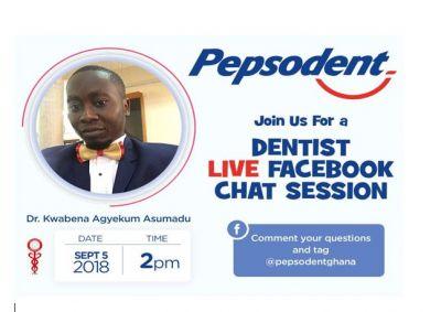 #Pepsensitiverepairs: Pepsodent holds dentist live chat on social media