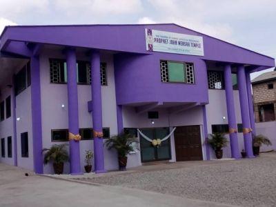 Church of Christ Spiritual Movement dedicates two temples in memory of late Rev. John Mensah