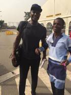 Ghanaian-British actor Peter Mensah in Ghana