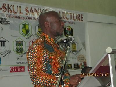 CEO of Ark Media Stephen Ato Eshun
