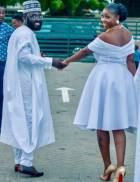 Kofi Asamoah, Salma Mumin stun at colleague actor's wedding