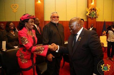 Akufo-Addo praises Rawlings, Tsikata