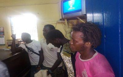 Taskforce arrests 4 illegal miners; sets mining equipment ablaze