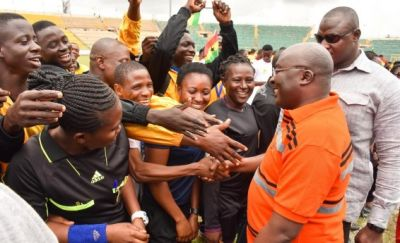 National Sports Festival would be marked every year – Dr. Bawumia assures