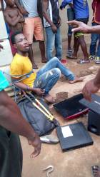 Four suspected thieves nabbed at Koforidua