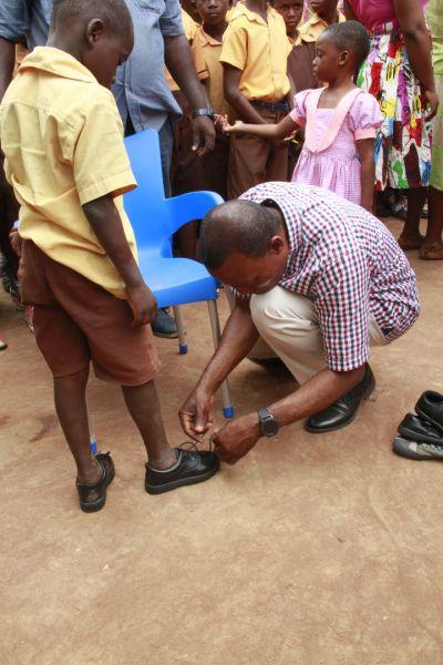 Rebecca Foundation donates to K.K.M.A Basic School