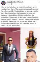 I had sex with Angel Obinim and Rev Obofour - Dzidzor Mensah reveals