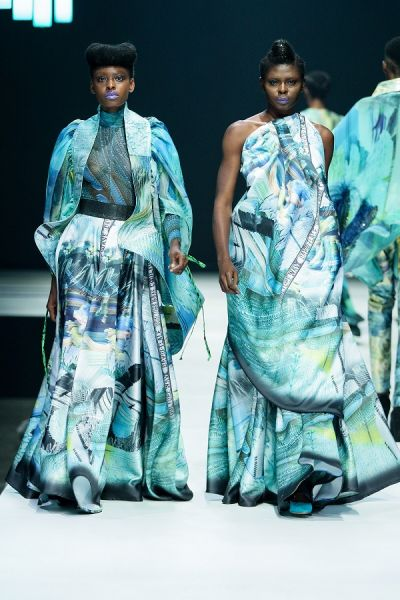 Victoria Michaels shines at AFI Fashion Week