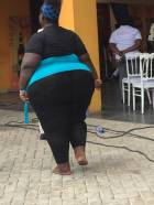 Meet the 'fattest woman' in Greater Accra region