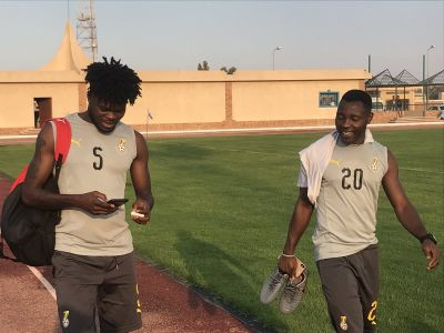 PHOTOS: Black Stars hold final training session ahead of Guinea-Bissau game