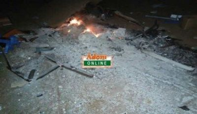 Angry Walewale youth vandalize party properties