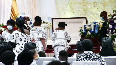 Tributes as Bishop Peter Owusu Ansah is laid to rest