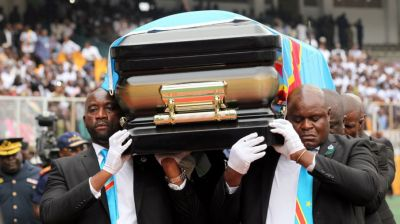Etienne Tshisekedi funeral takes place in DR Congo