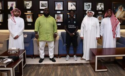 Saudi Pro League giants Al Ahli unveil Ghana's Samuel Owusu