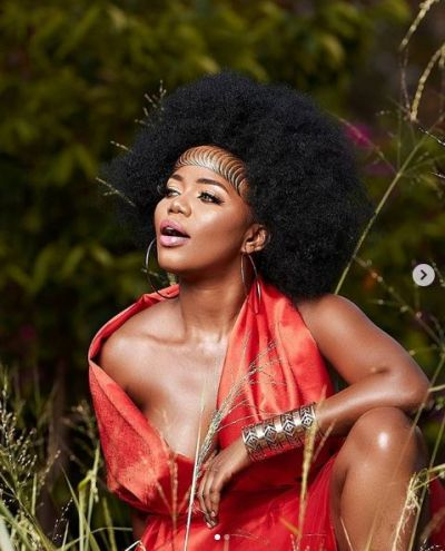 I'm 40 but still saucy - Mzble teases fans with seductive photos