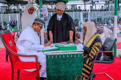 Muhammadu Buhari sworn in for second term as Nigerian President