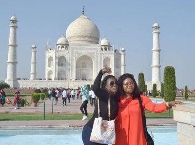 Rev Obofuor's wife takes a vacation in India after plush birthday party