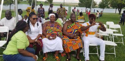 Joyce Blessing thrills fans at maiden Ghanafest event in Dallas, Texas