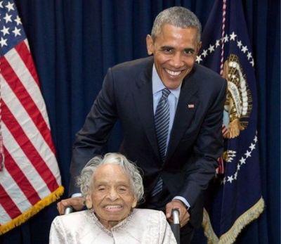 Olivia Hooker: Tulsa race riot survivor dies aged 103