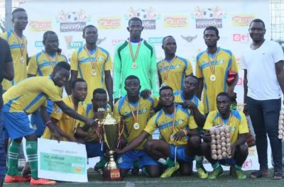 Quick SMS wins 2018 Happy FM corporate knockout challenge