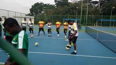 Photos: Black Stars begin training ahead of Congo clash