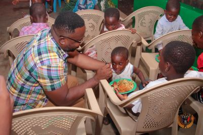 Legon Cities celebrate Xmas with Potters House Orphanage