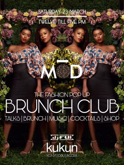 MOD featuring at Fashion Pop Up Brunch Club