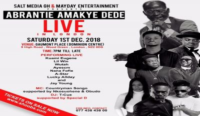 Amakye Dede in London to welcome top foreign diplomats and state officials on Dec. 1