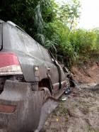 Woyongo survives ghastly car crash