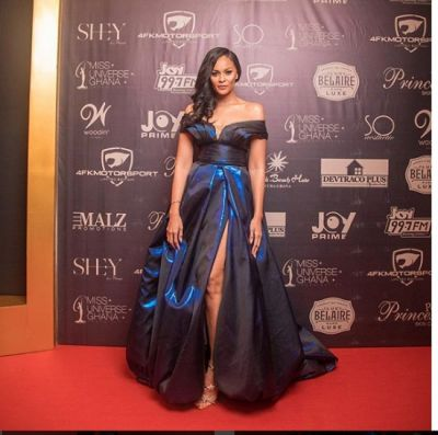 Sulley Muntari and his wife stun on red carpet of Miss Universe Ghana