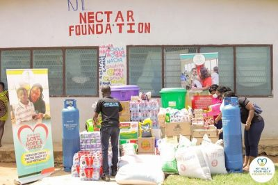 Nectar Foundation celebrates May Day with items worth over GHC20,000 from  Myhelp-Yourhelp Foundation