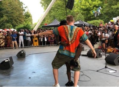 Wiyaala thrills audience at the Hague African Festival