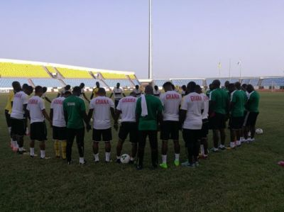 2018 WCQ: Black Stars hold first training in Cape Coast