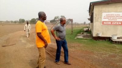 CAF President visits Ghanaman Soccer Centre of Excellence