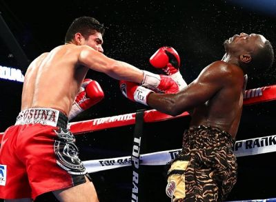 Ghana's Habib Ahmed loses WBO World title to Gilberto Ramirez