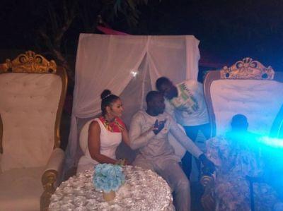 Ghanaian actor Chris Attoh marries again