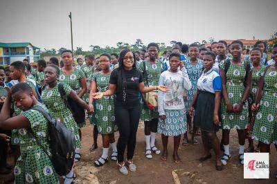 AmaCares embarks on child sexual abuse awareness campaign at Sekyere-Kwamang