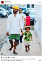 Father's day photos: Celebs pose with their kids, others with fathers