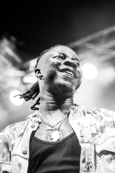 Stonebwoy, Donzy, Larruso, Talaat Yarky, others support DJ Justice at 'The Justice Experience'