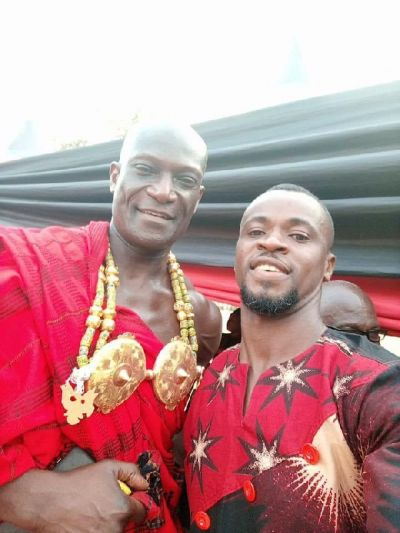 Ghanaian-British actor Peter Mensah in Ghana