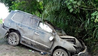 Former Interior Minister Mark Woyongo escapes near-fatal accident