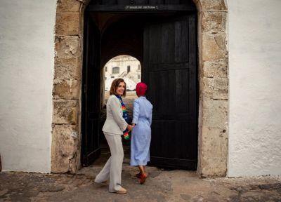 Congresswoman Ilhan Omar trolls Trump with Ghana visit