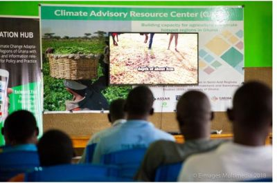ASSAR builds Climate Advisory Resource Center for farmers in Lawra, Nandom