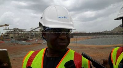 Amewu visits Ahafo Newmont after accident killed 6 workers