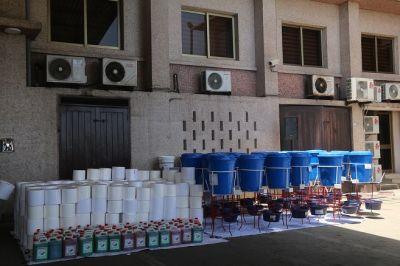 COCOBOD takes delivery of more donations for the fight against coronavirus